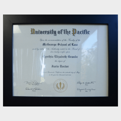 new-plaque-University of the pacific